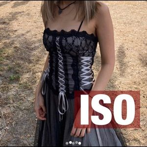 In search of this corset morbid threads dress